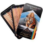 Набор акварельных цветных карандашей 24 (WATERCOLOR)